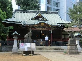 金王八幡宮(東京渋谷区)
