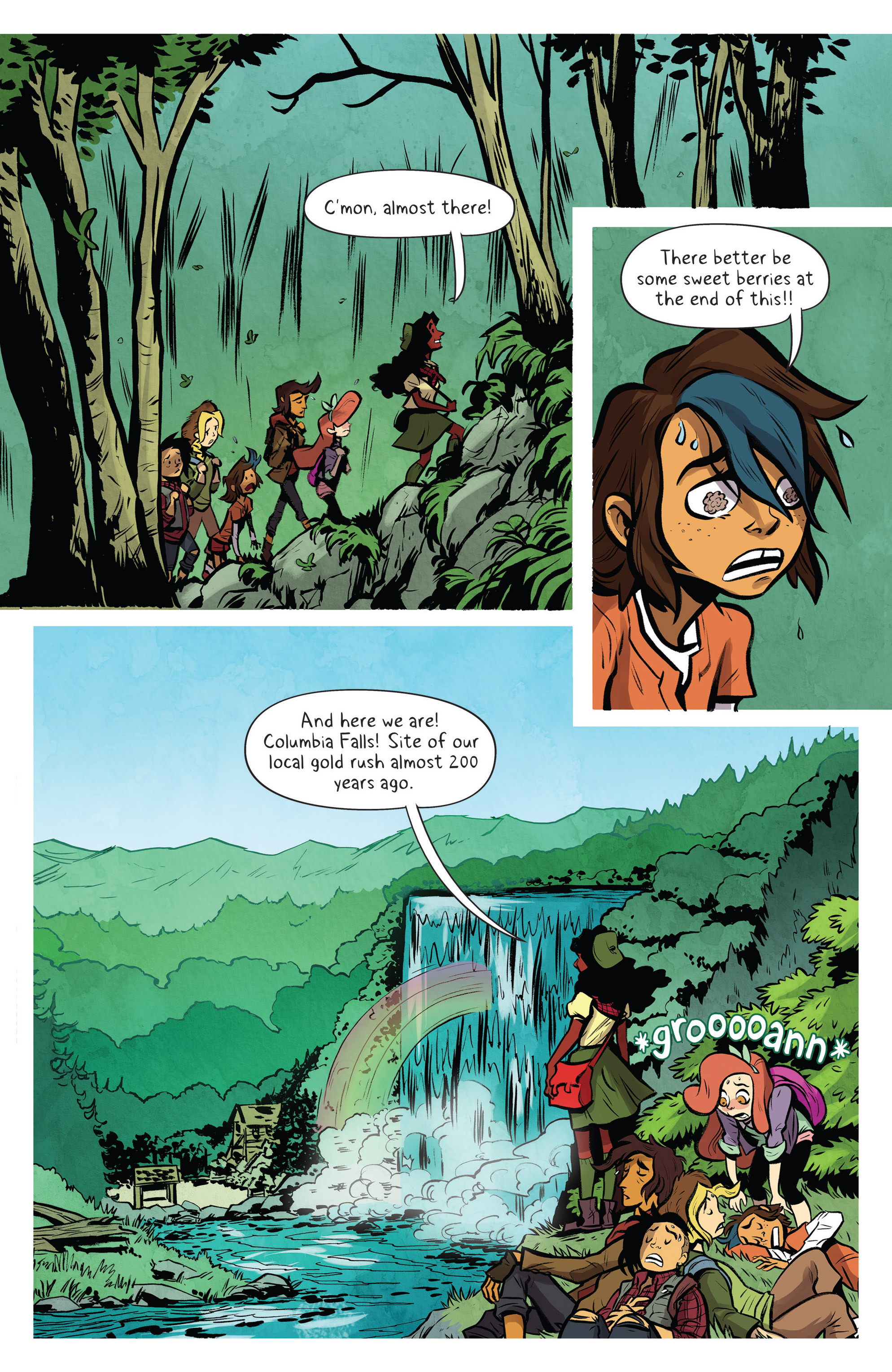 Read online Lumberjanes: Makin' the Ghost of It 2016 Special comic -  Issue # Full - 10