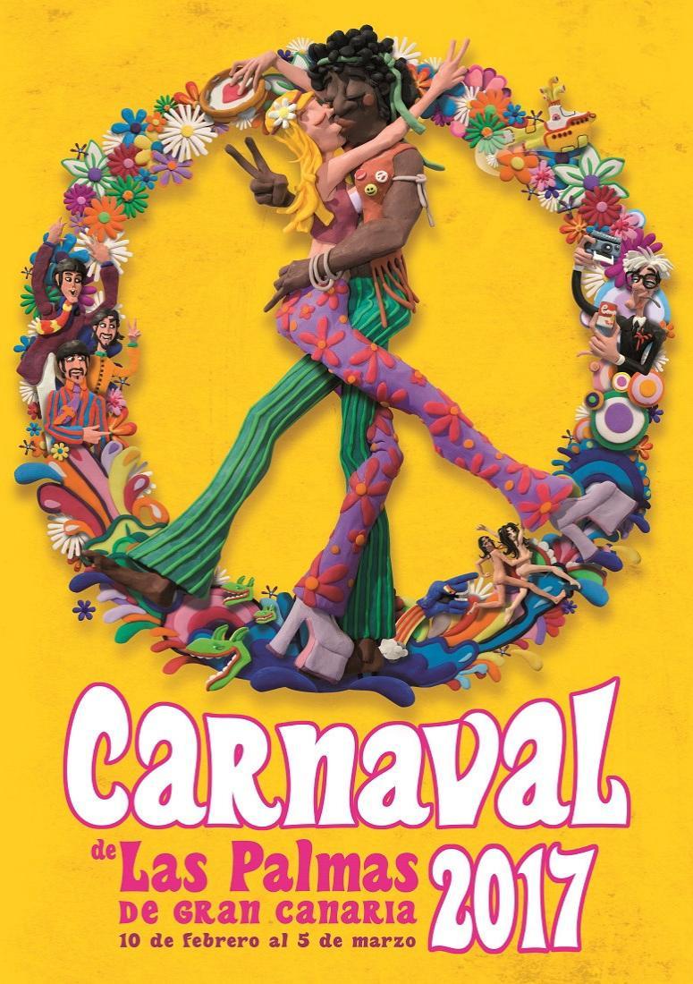 Cartel del carnaval las palmas de gran canaria 2017 - Gran canaria tv com ...