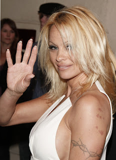 Hand of Porn Star Pamela Anderson Indian Palmistry