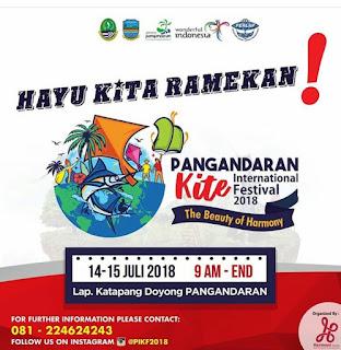 2018 Pangandaran International Kite Festival