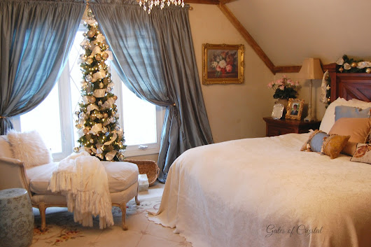 Christmas in our Master Bedroom