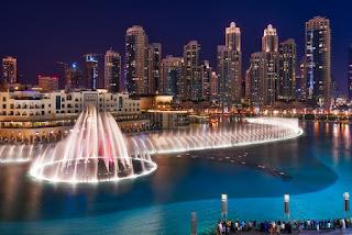 Dubai Fountain, Air Mancur Besar dan Indah