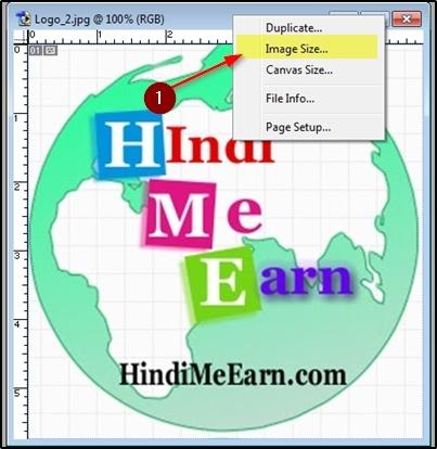 Image pe right click kare