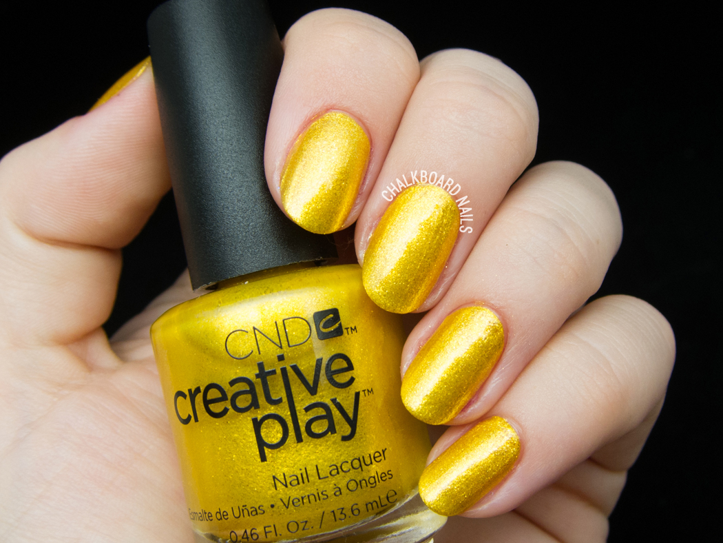 CND Creative Play - Foiled Again @chalkboardnails