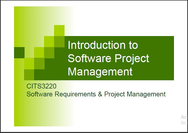Introduction to Software Project Management pdf
