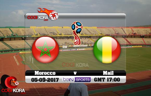مشاهدة مباراة مالي والمغرب اليوم 5-9-2017 تصفيات كأس العالم