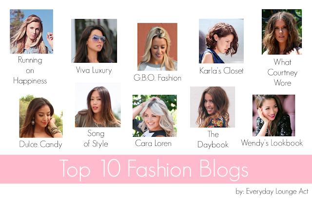 Editor's Picks: Top 10 Fashion Blogs
