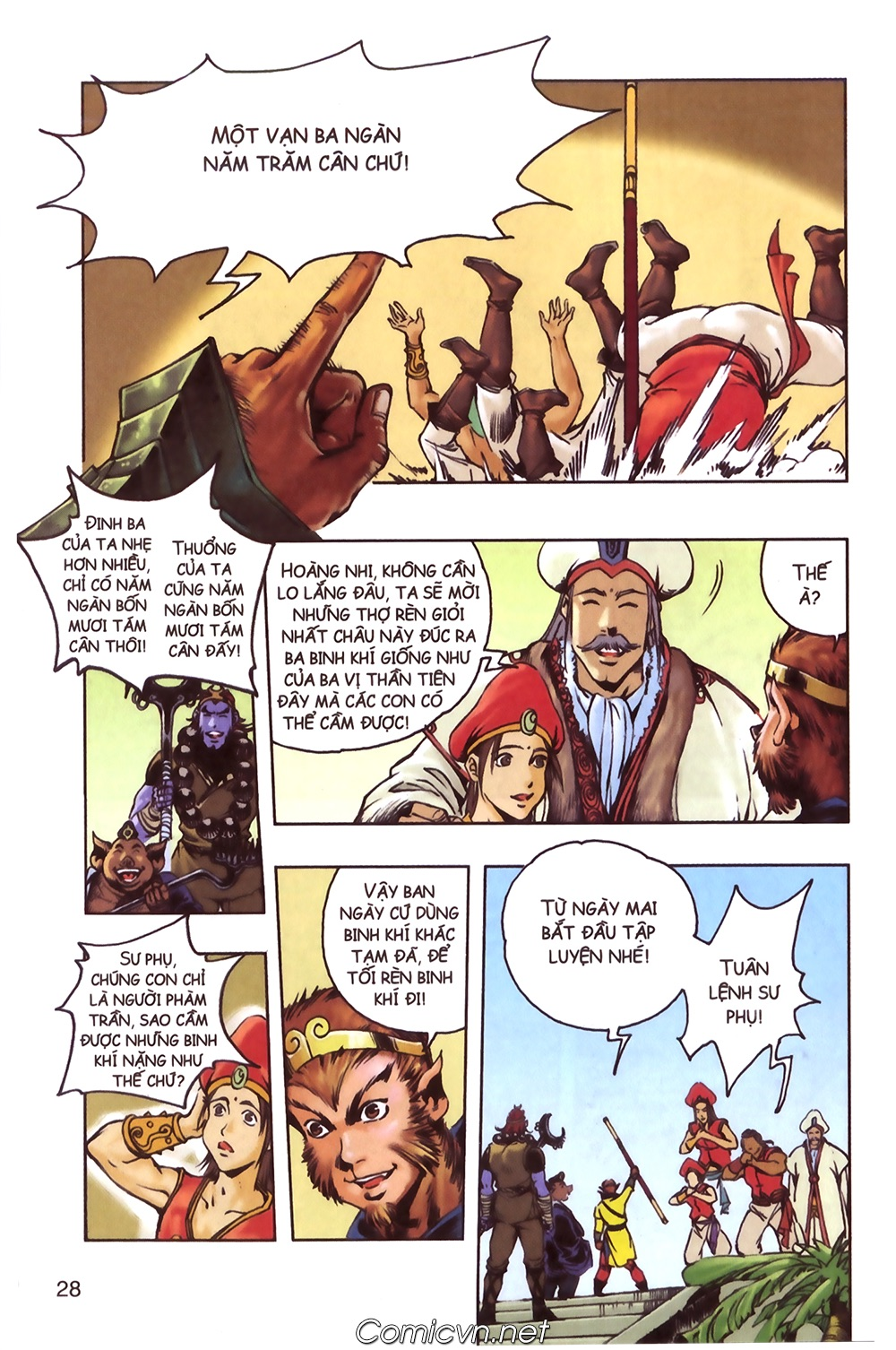 Tây Du Ký màu - Chapter 124 - Pic 24