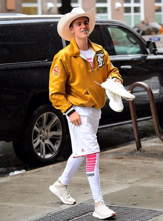 The Internet Has a Lot of Feelings About Justin Bieber's Cowboy Fashion Statement