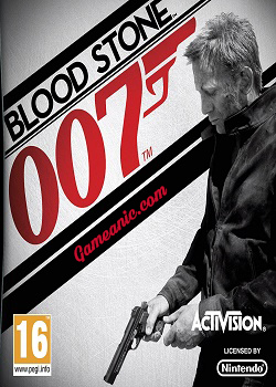 James Bond 007 Blood Stone Game Cover