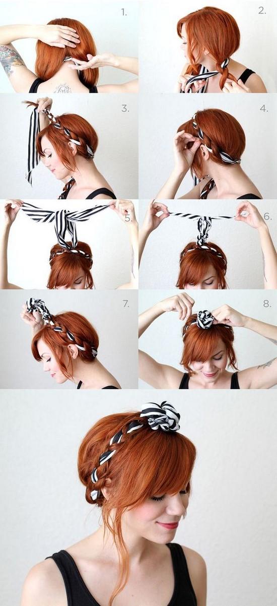 Los mejores peinados sencillos paso a paso peinados f ciles - Ver peinados de fiesta paso a paso ...