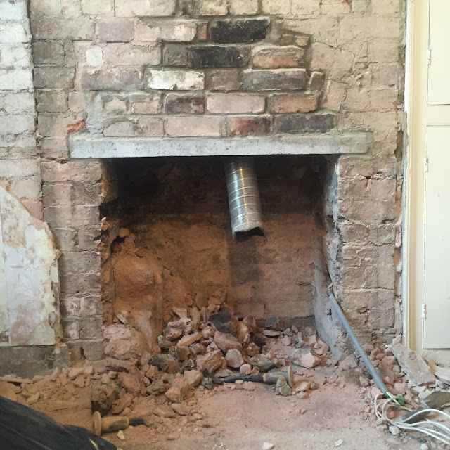 how to open a chimney