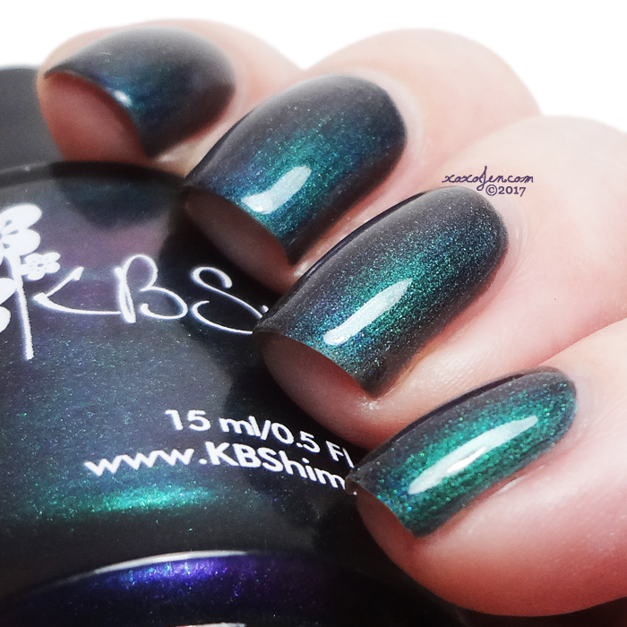 xoxoJen's swatch of KBShimmer Flip Flop Hooray