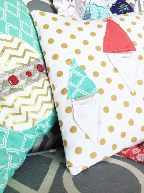 How to Sew a Gnome Pillow Sham using FMA and Free Motion Quilting FMQ