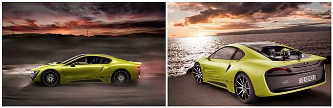 2016 BMW i8 Based Rinspeed Etos Concept