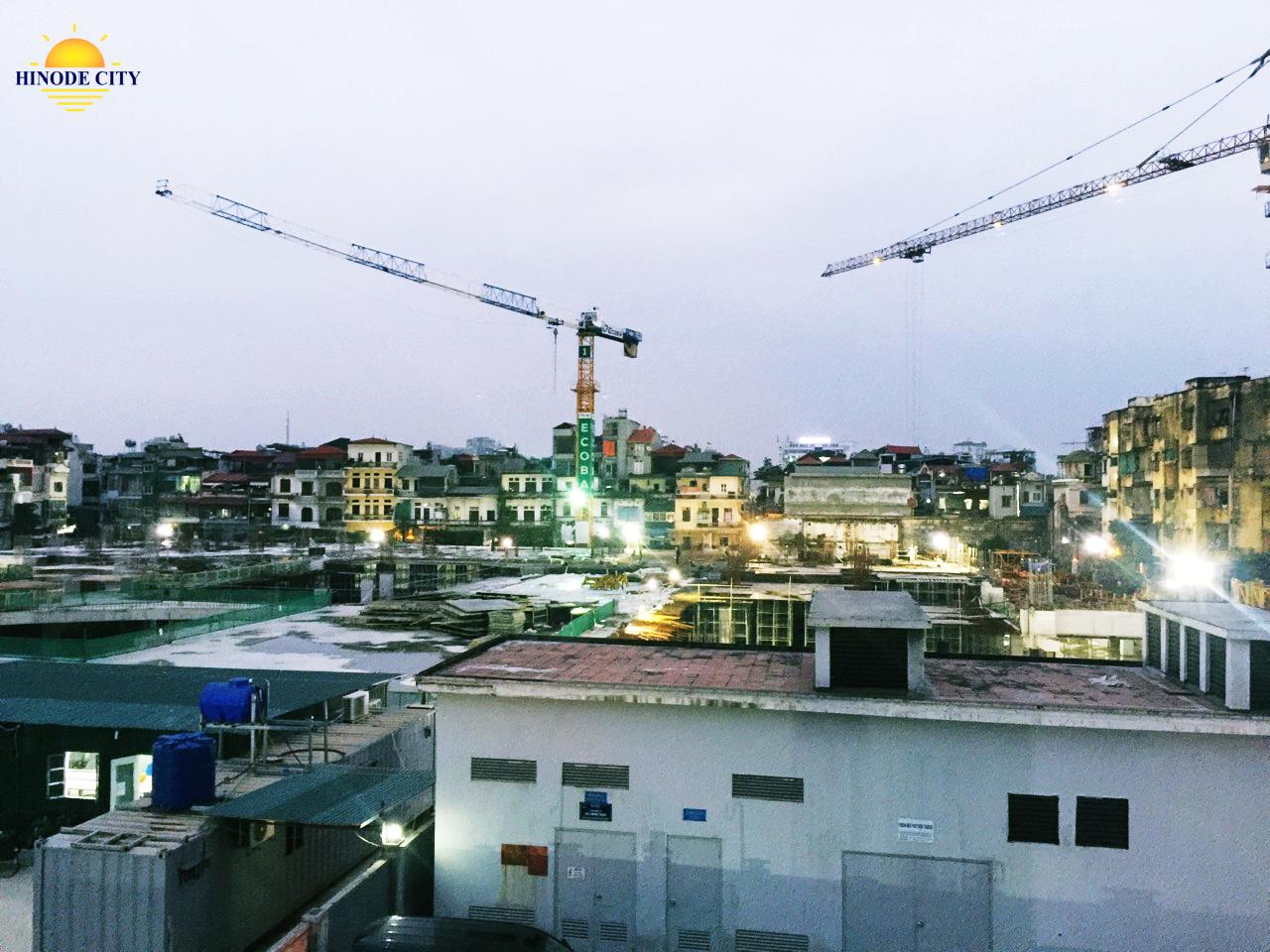 Tiến độ xây dựng dự án chung cư 201 Minh Khai