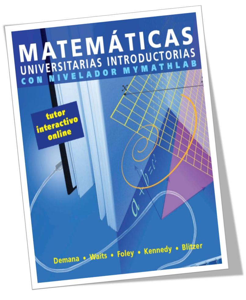 matematicas universitarias introductorias con nivelador mymathlab pdf