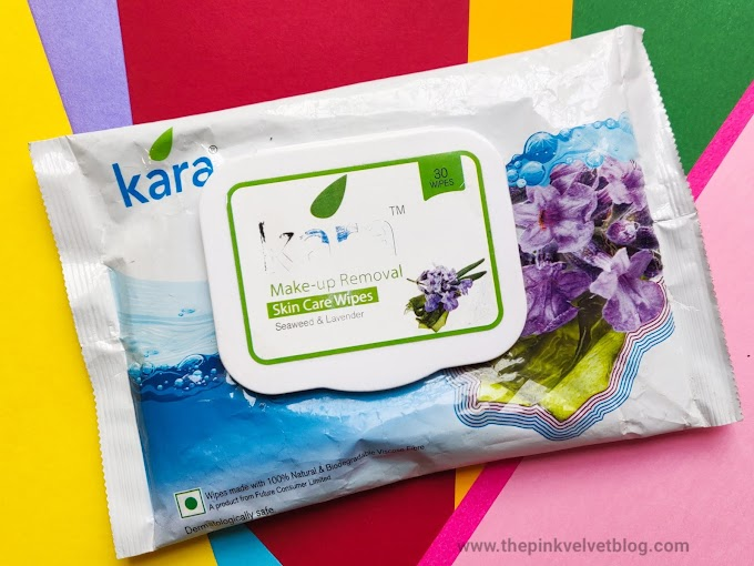 Kara Makeup Removal Wipes Review - Seaweed and Lavender