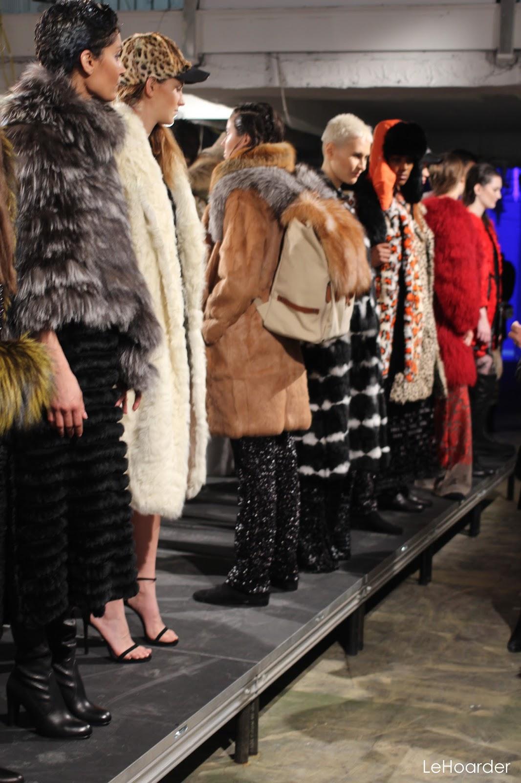 Day 8 NYFW; Adrienne Landau & Fur Pom Poms. | Le Hoarder