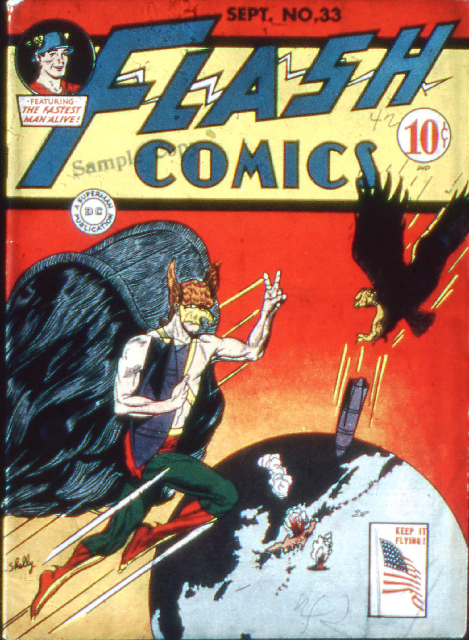 Flash Comics 33 Page 1
