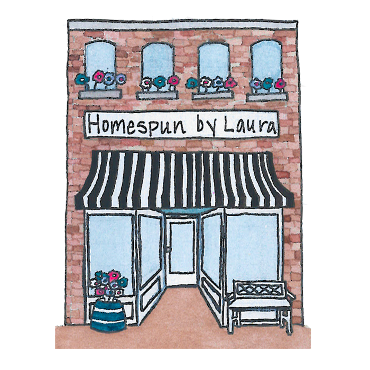 Homespun by Laura on Etsy