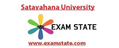 Satavahana University Question Papers