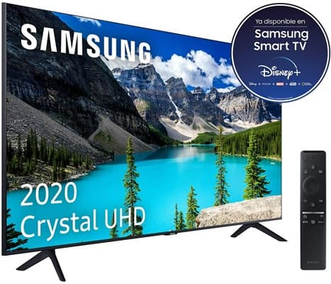 Samsung Crystal UHD 2020 55TU8005: análisis