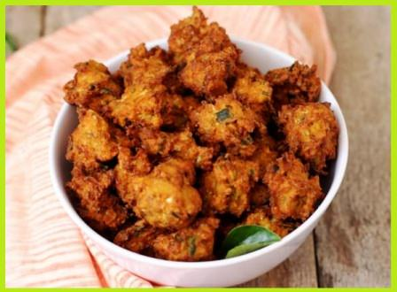Rice Pakore Recipe in Hindi