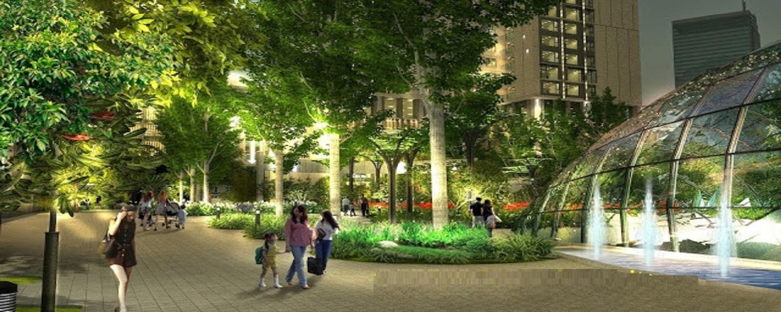 Cung đường dạo bộ lý tưởng tại chung cư Rivera Park