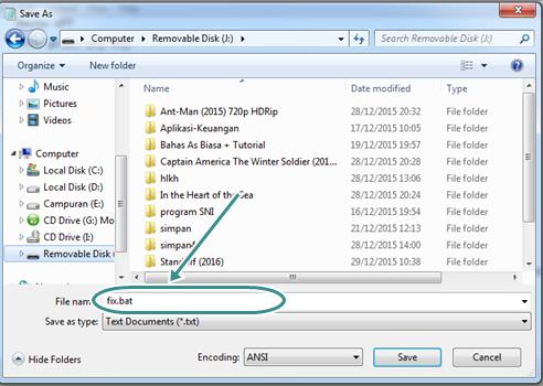 Cara Menghilangkan Virus New Heur.FFD(link) di Flashdisk