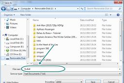 Cara Menghilangkan Virus New Heur.FFD(link) di Flashdisk / Laptop