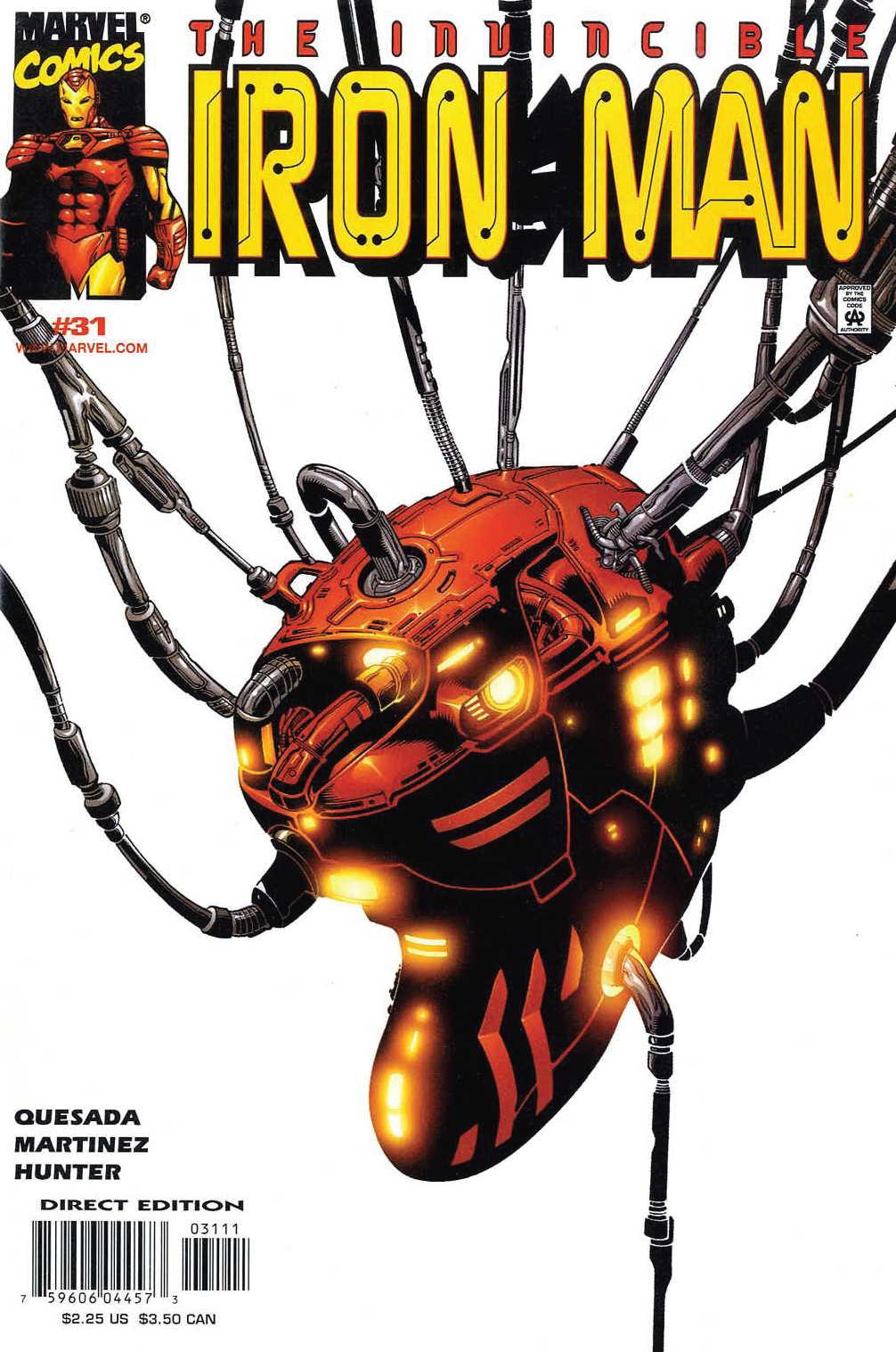 Iron Man (1998) 31 Page 1