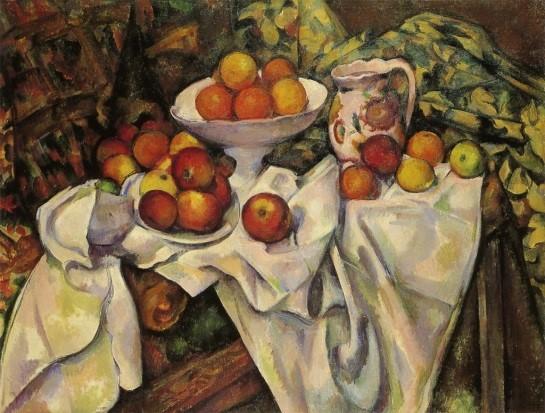 近代絵画の父。遅咲きの画家、ポール・セザンヌ【Art】 林檎とオレンジ
