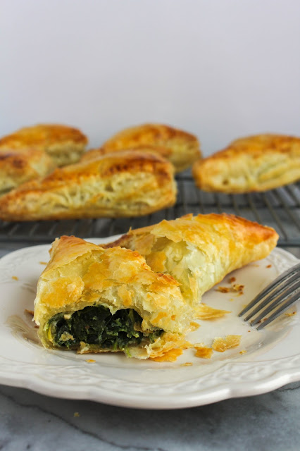 Spinach Gruyere Turnovers | The Chef Next Door