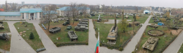 Exposición al aire libre Museo militar Sofía Bulgaria