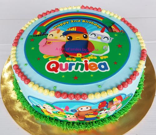 Cupcake Cake Cookies Kek Cawan & Edible Image Printing ...
