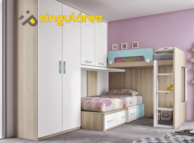 Blog dormitorios juveniles valencia qu tipo de litera - Literas ninos pequenos ...