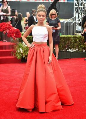 Sarah Hyland 66th Emmy Awards