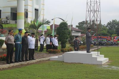 Kemenag Tanjungbalai Laksanakan Upacara HAB Kementerian Agama RI Ke 72