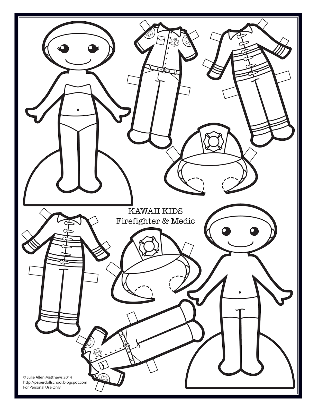 Paper Doll School Kawaii Wednesdays