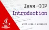 Java OOP - A simple introduction