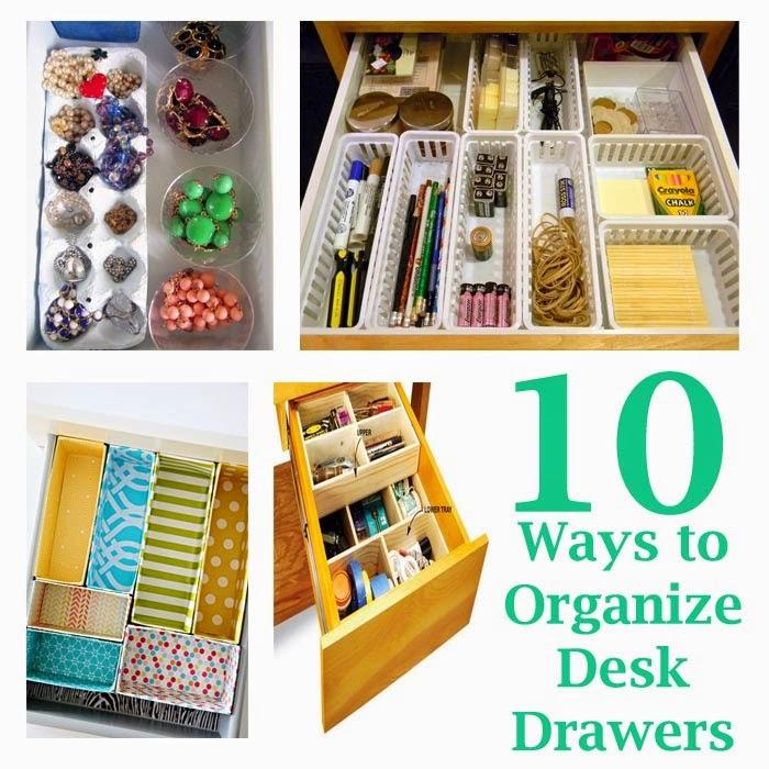 Organize Desk Drawers