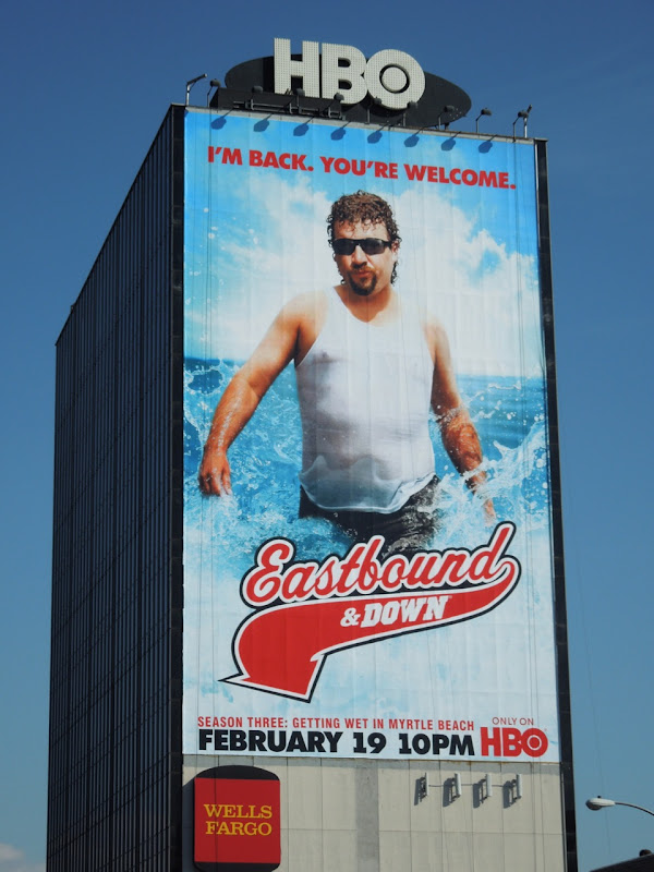 Giant Eastbound and Down billboard