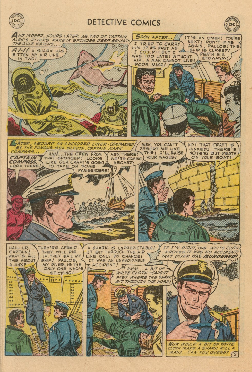 Read online Detective Comics (1937) comic -  Issue #212 - 15