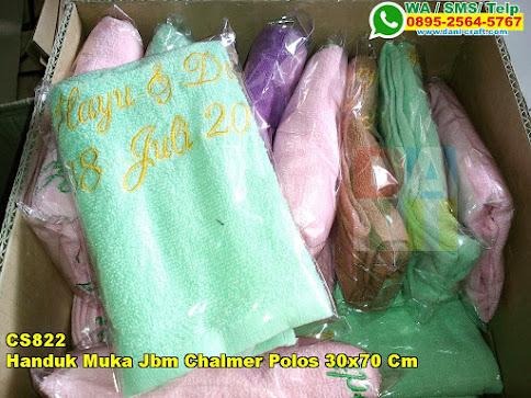 Toko Handuk Muka Jbm Chalmer Polos 30x70 Cm