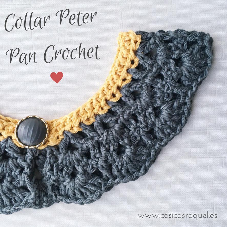 cosicasraquel: Collar Peter Pan Crochet