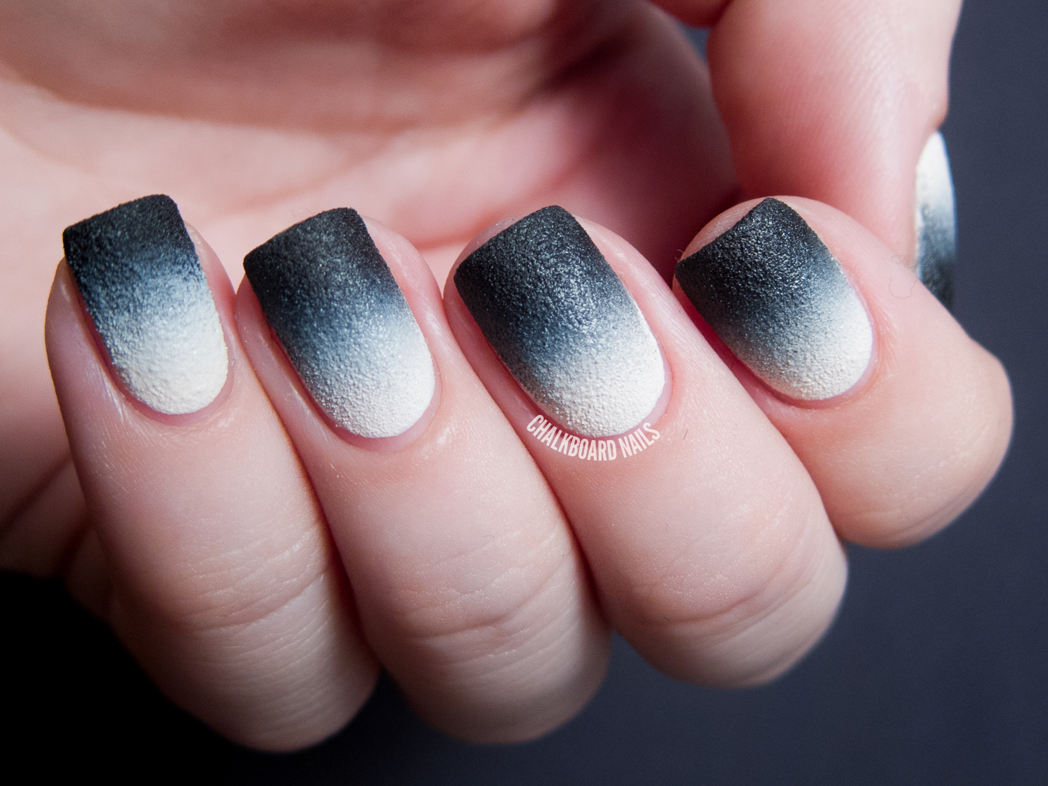 31DC2013 Day 10: Nails Inc. Leather Gradient | Chalkboard ...