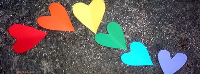 Ảnh bìa Facebook đẹp - Cover FB trái tim đẹp