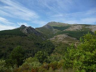 Salida de Valverde de los Arroyos. Pico Ocejón